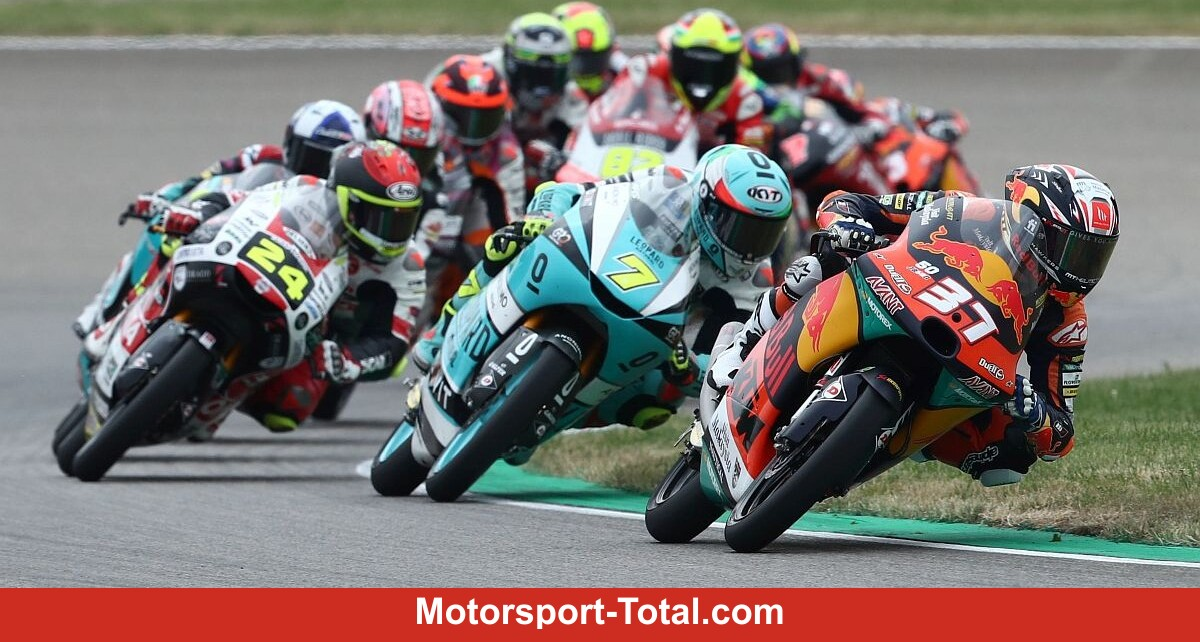 World championship leader Acosta wins chaos race at the Sachsenring - Motor Informed
