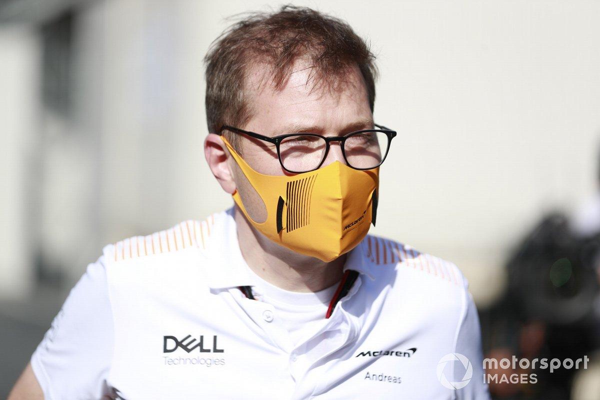 Andreas Seidl McLaren Team Principal