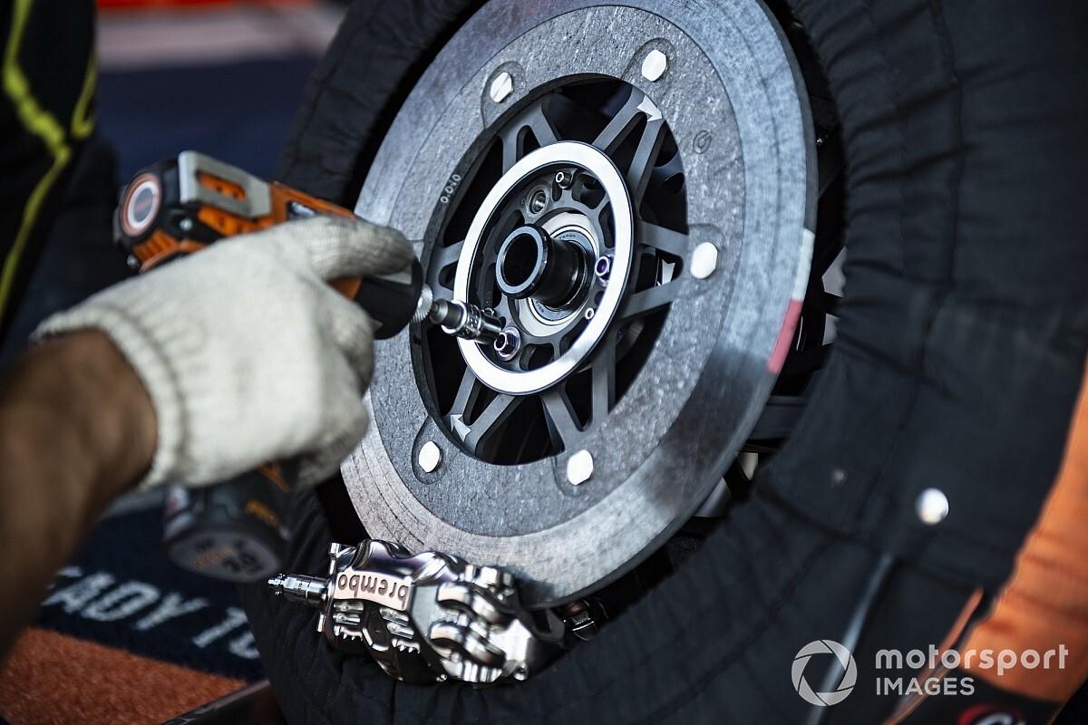 Brembo creating greater MotoGP brake discs after Barcelona take a look at - Motor Informed