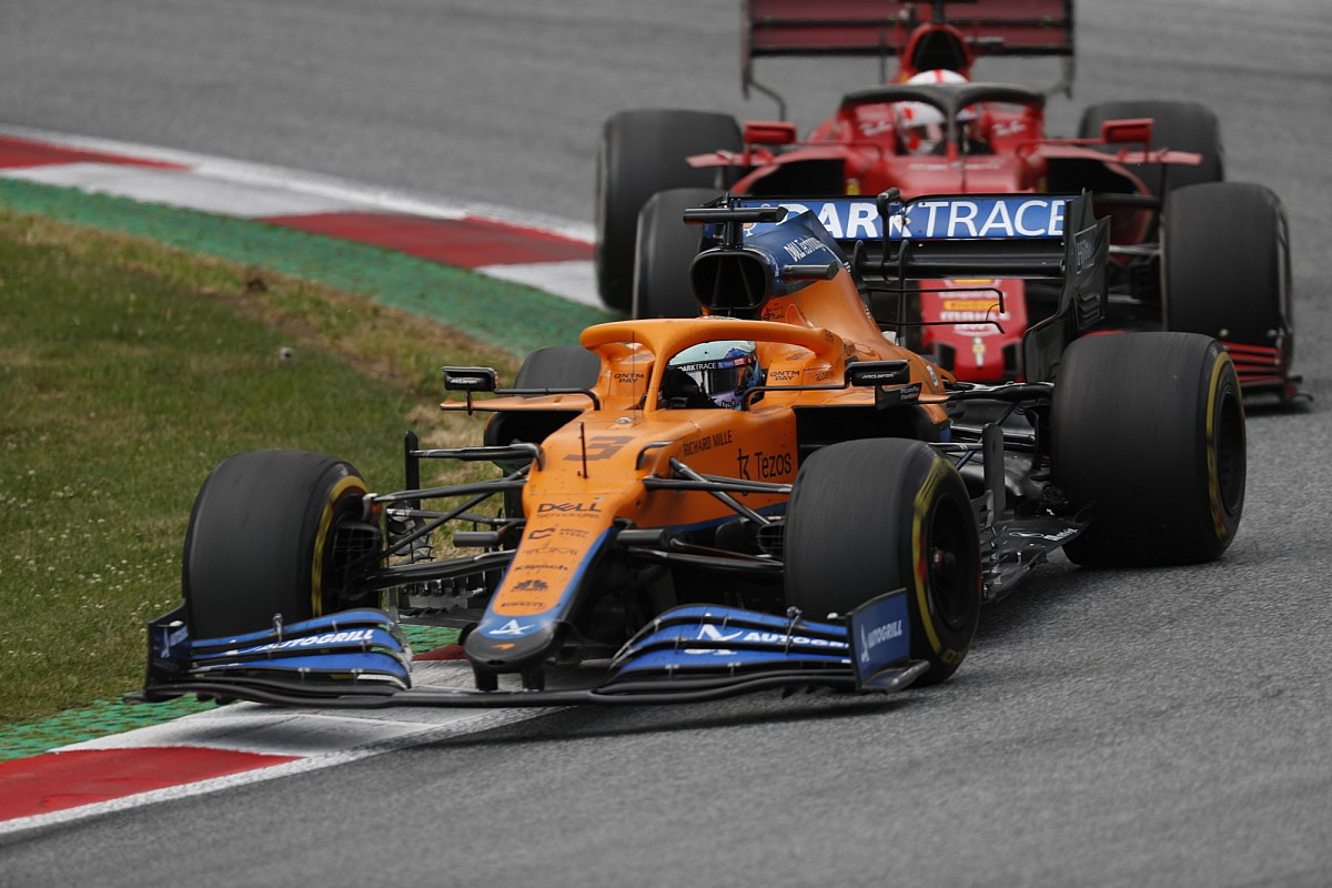 "Ricciardo: Energy unit glitch was ""disheartening"" in Styrian F1 race - Motor Informed"