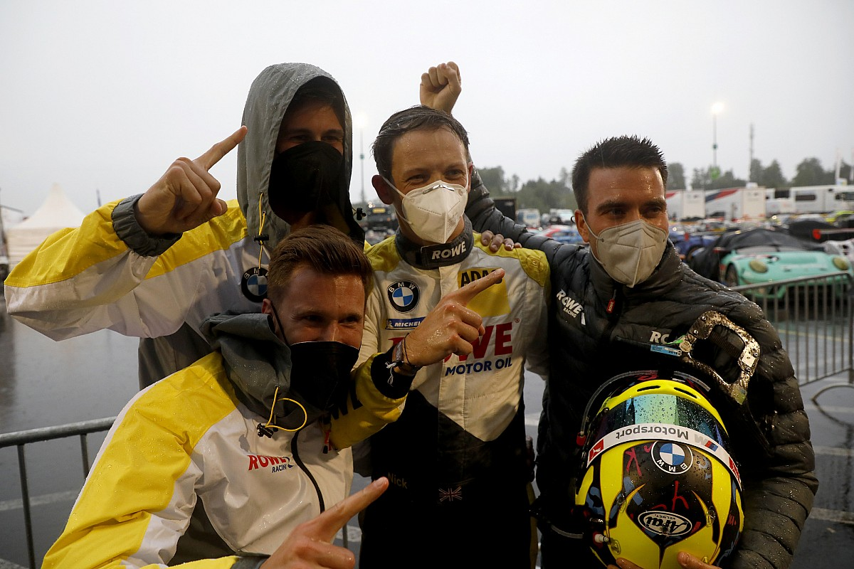 Nurburgring 24: Yelloly arms Rowe rain-soaked pole - Motor Informed