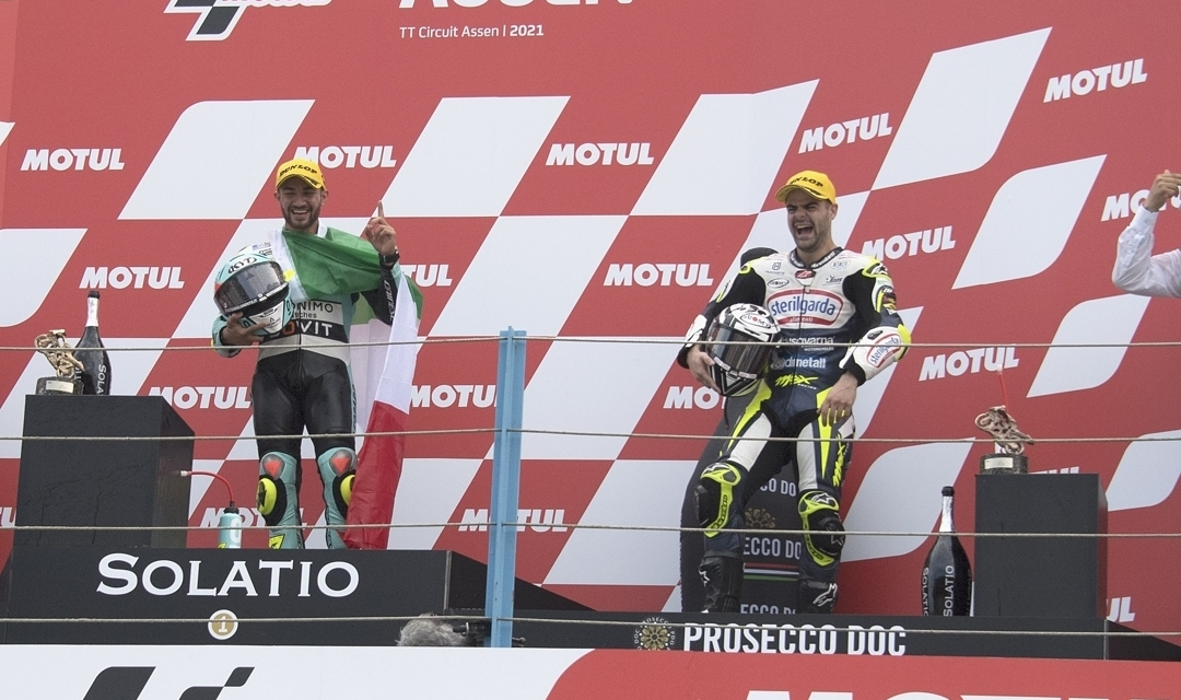 Foggia and Fenati, from Moto3 the one tricolor joys at Assen 2021 - Motor Informed