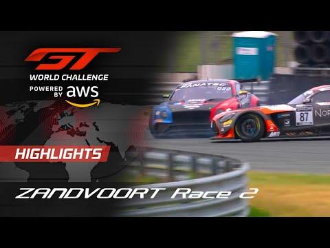 Race 2 Highlights   2021 Zandvoort   GT World Challenge Europe - Motor Informed