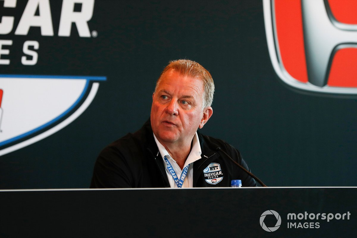 IndyCar president Jay Frye