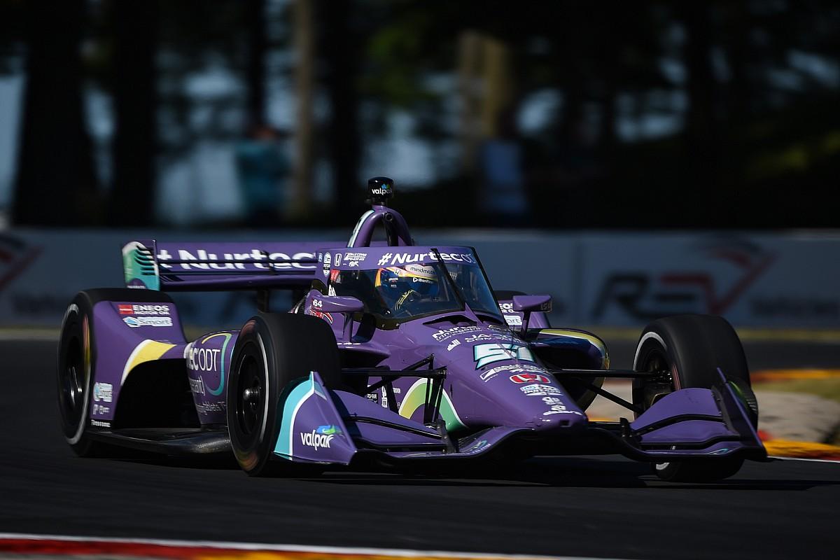 Highway America IndyCar: Grosjean tops apply, Magnussen 23rd on debut - Motor Informed