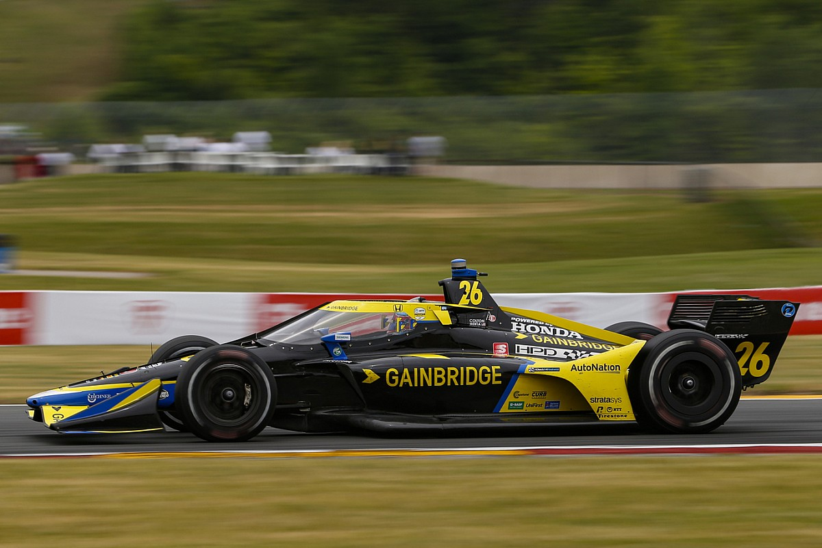 """Herta: Street America podium a """"large confidence increase"""" to Andretti staff - Motor Informed"""