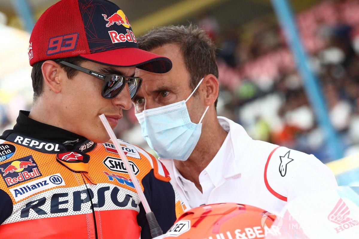 Marc Marquez, Repsol Honda Team, Alberto Puig, Repsol Honda Team Team Principal race