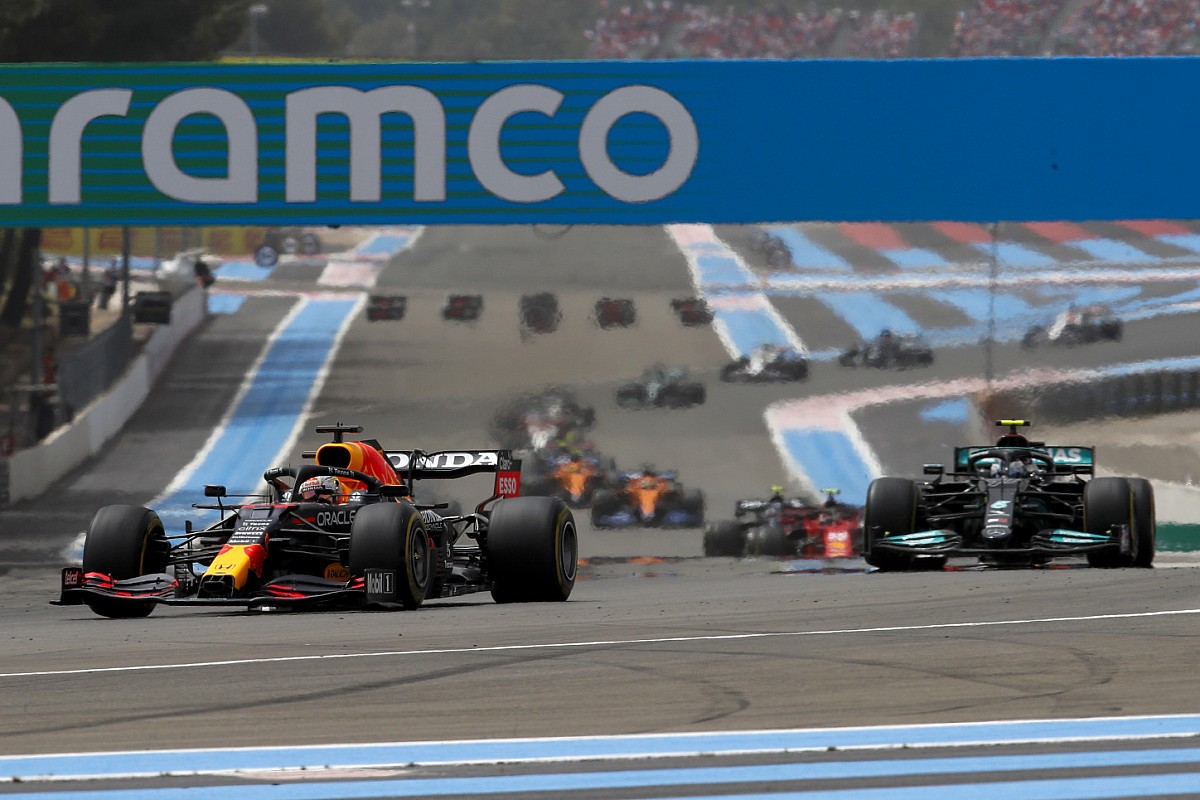F1 French Grand Prix race outcomes: Verstappen wins from Hamilton at Paul Ricard - Motor Informed