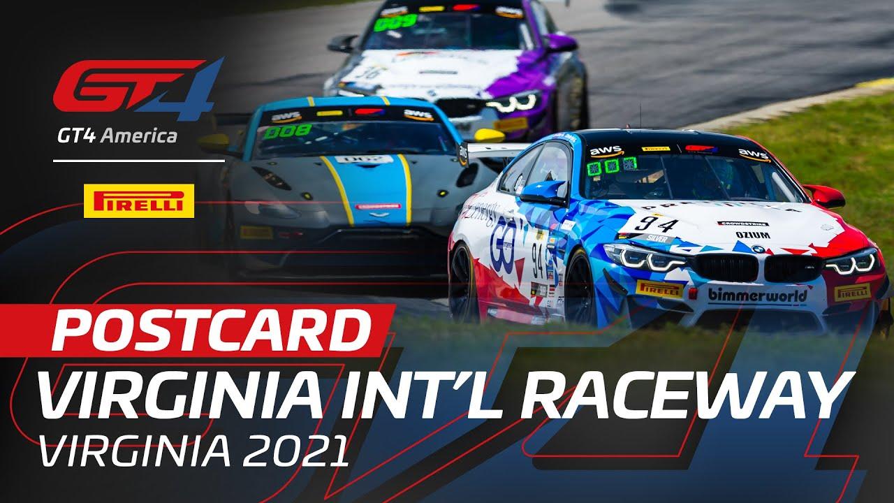 VIR POSTCARD - Pirelli GT4 America 2021 - Motor Informed