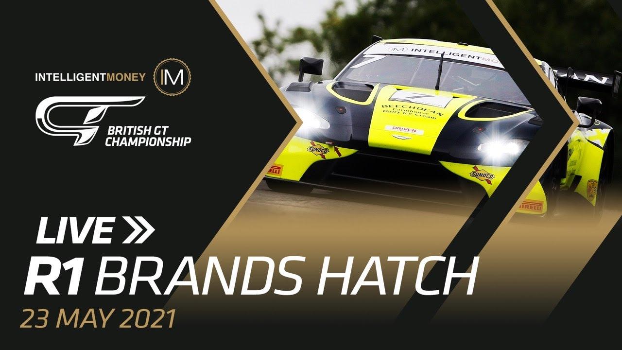 LIVE | British GT - Brands Hatch - R1 - Motor Informed
