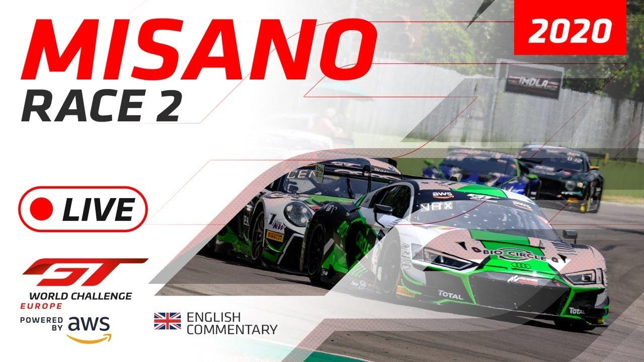 RACE 2 - MISANO - GTWC EUROPE 2020 - ENGLISH - Motor Informed