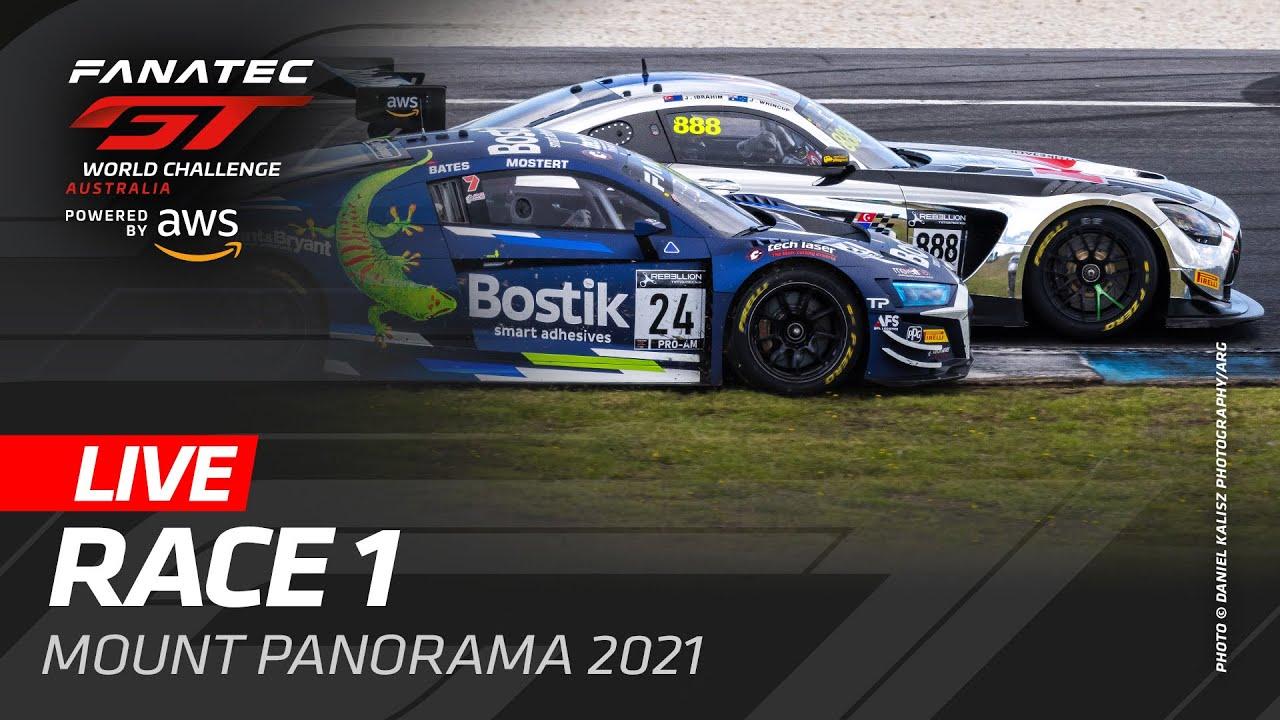 WE'RE LIVE FROM BATHURST AUSTRALIA - RACE 1 - FANATEC GT WORLD CHALLENGE AUSTRALIA 2021 - Motor Informed