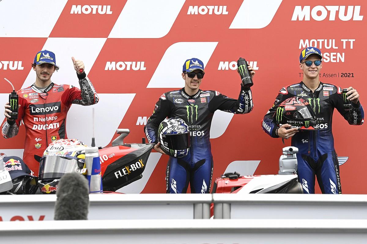 The beginning grid of the MotoGP Dutch GP - Motor Informed