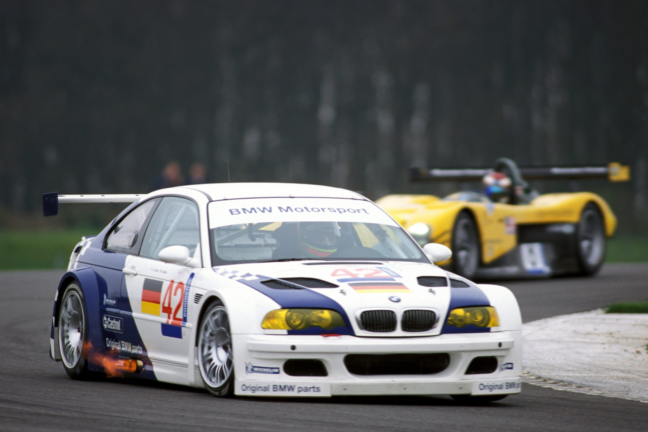 Jorg Muller won 2001 American Le Mans Series crown with M3 GTR