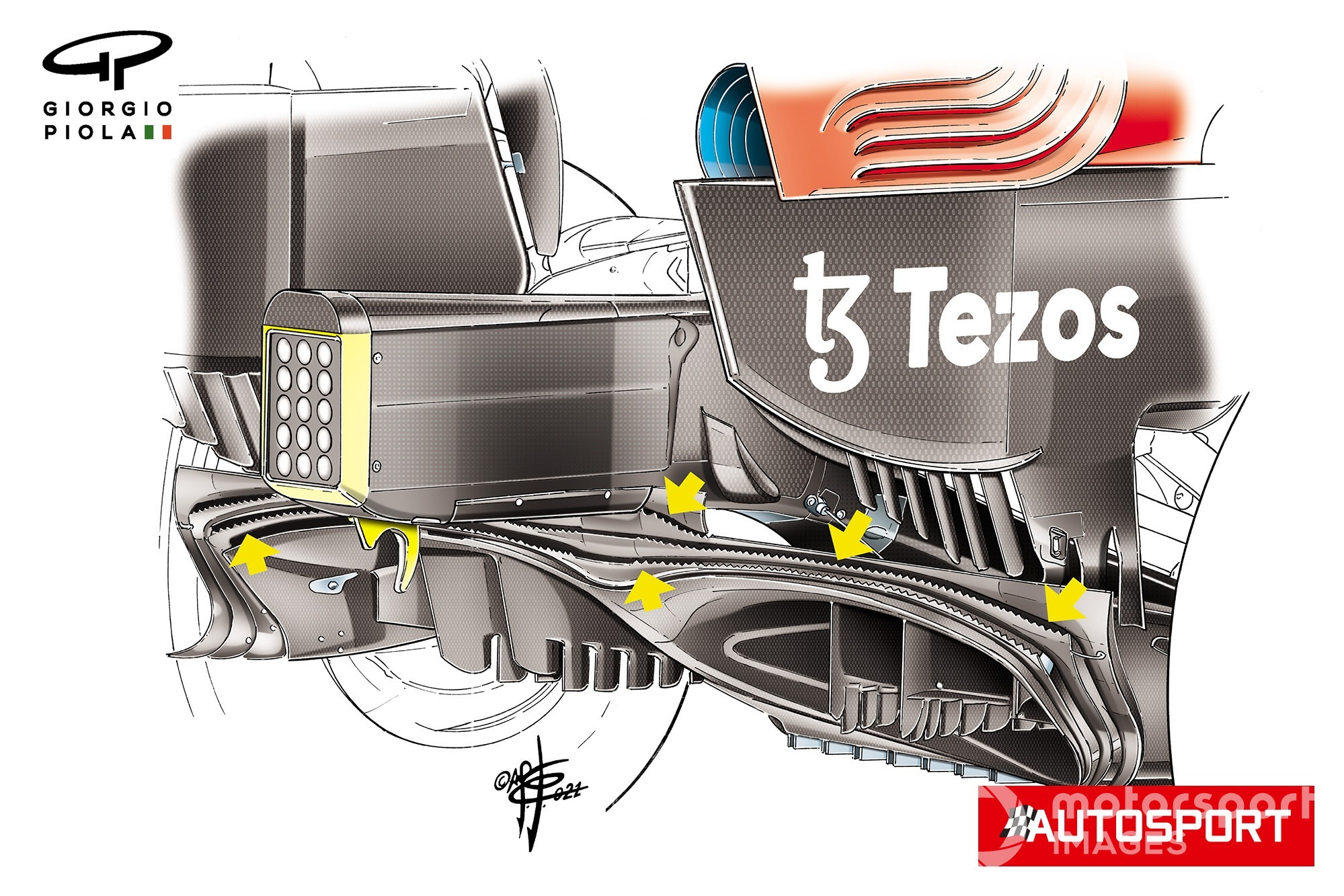 The Purple Bull F1 updates that helped it beat Mercedes on the Styrian GP - Motor Informed
