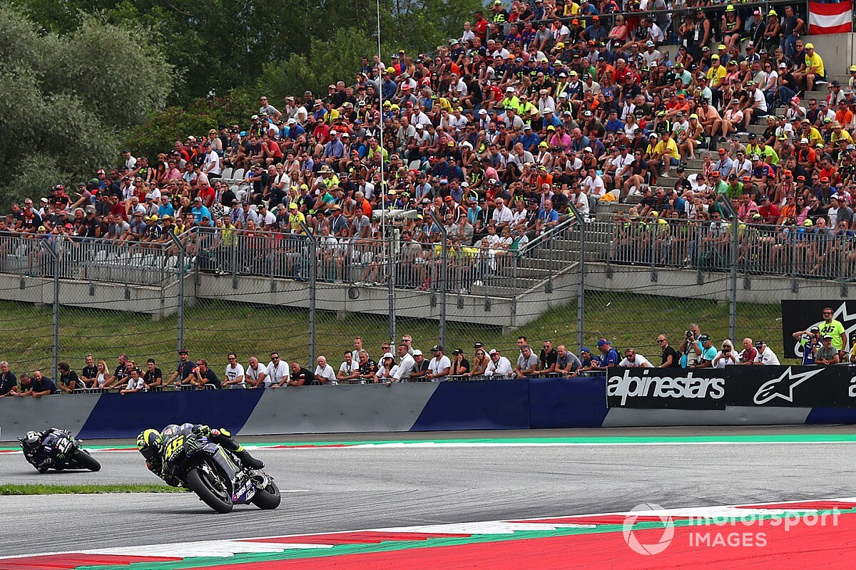Austria MotoGP races to be open to full capability crowds - Motor Informed