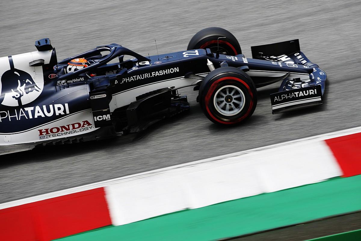 Tsunoda receives F1 grid drop for blocking Bottas in Styria Q3 - Motor Informed