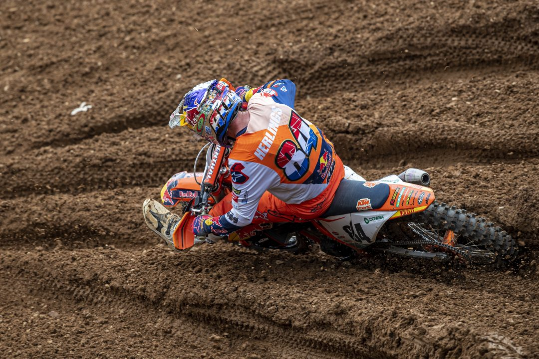 """Jeffrey Herlings, one other tile. """"I cried all through the race"""" - Motor Informed"""