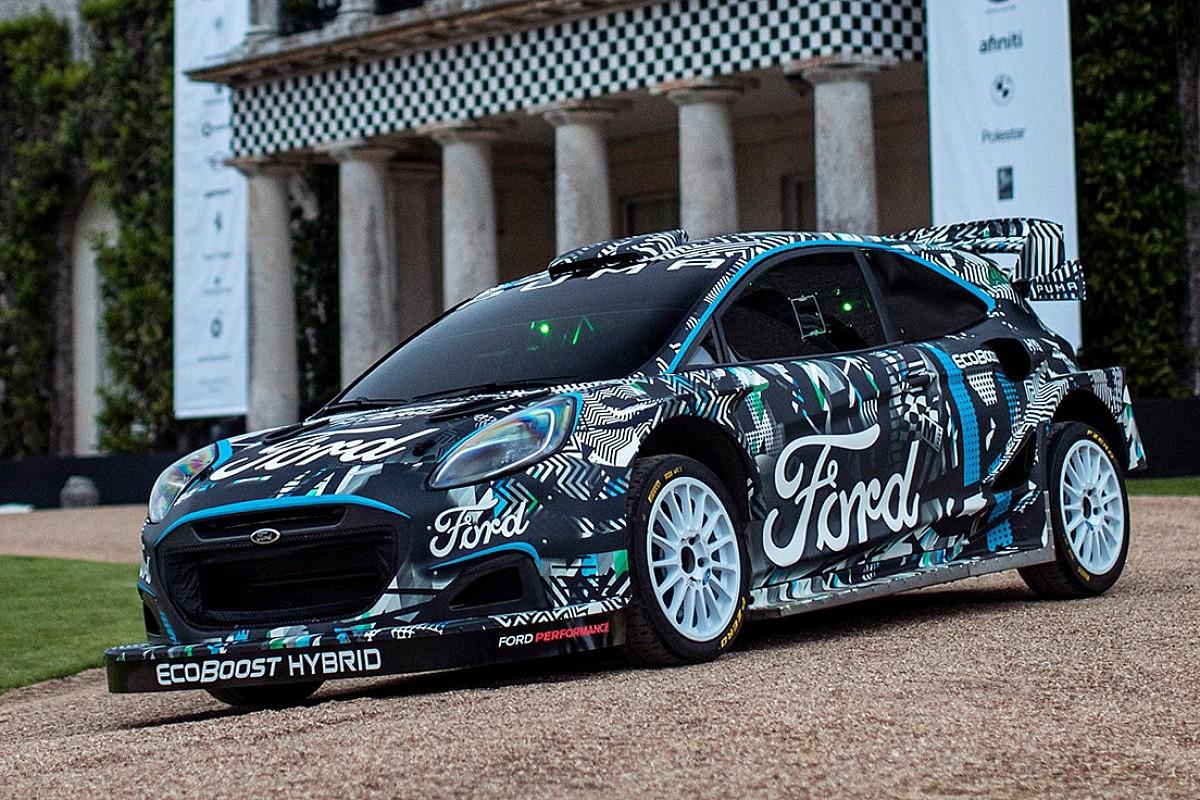 M-Sport unveils Puma Rally1 WRC prototype for 2022 - Motor Informed