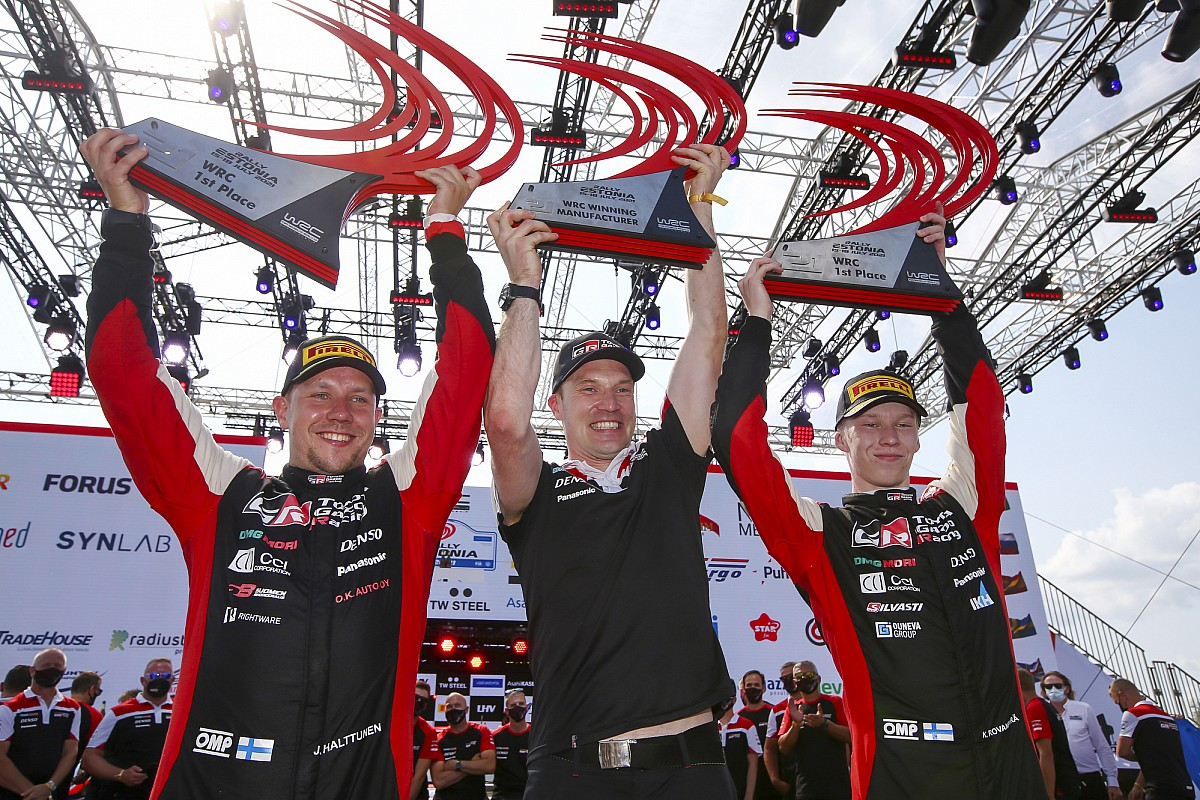 """Rovanperä's victory has """"nice significance"""" for Toyota - Motor Informed"""