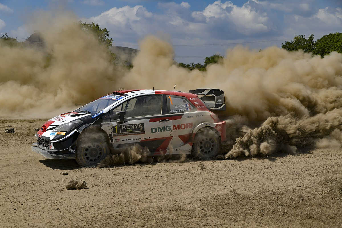 SS16 & 17 - Ogier takes the lead of the Safari Rally - Motor Informed