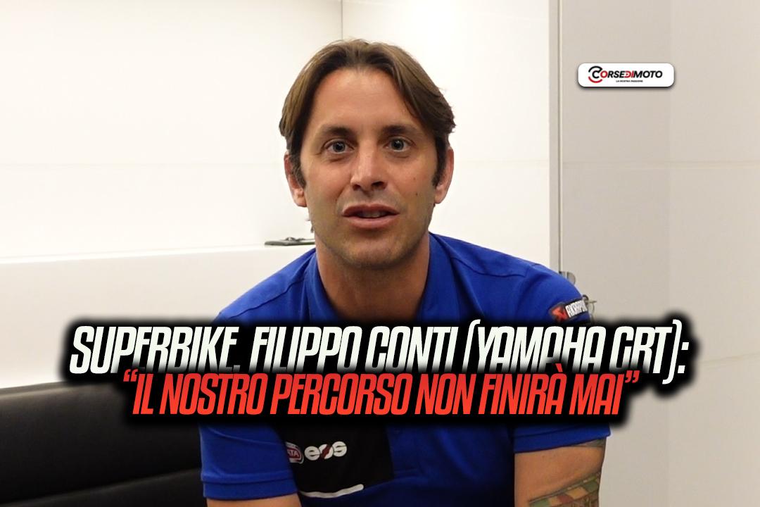 "Superbike, Filippo Conti (Yamaha GRT): ""Gerloff will rating in 2022"" - Motor Informed"