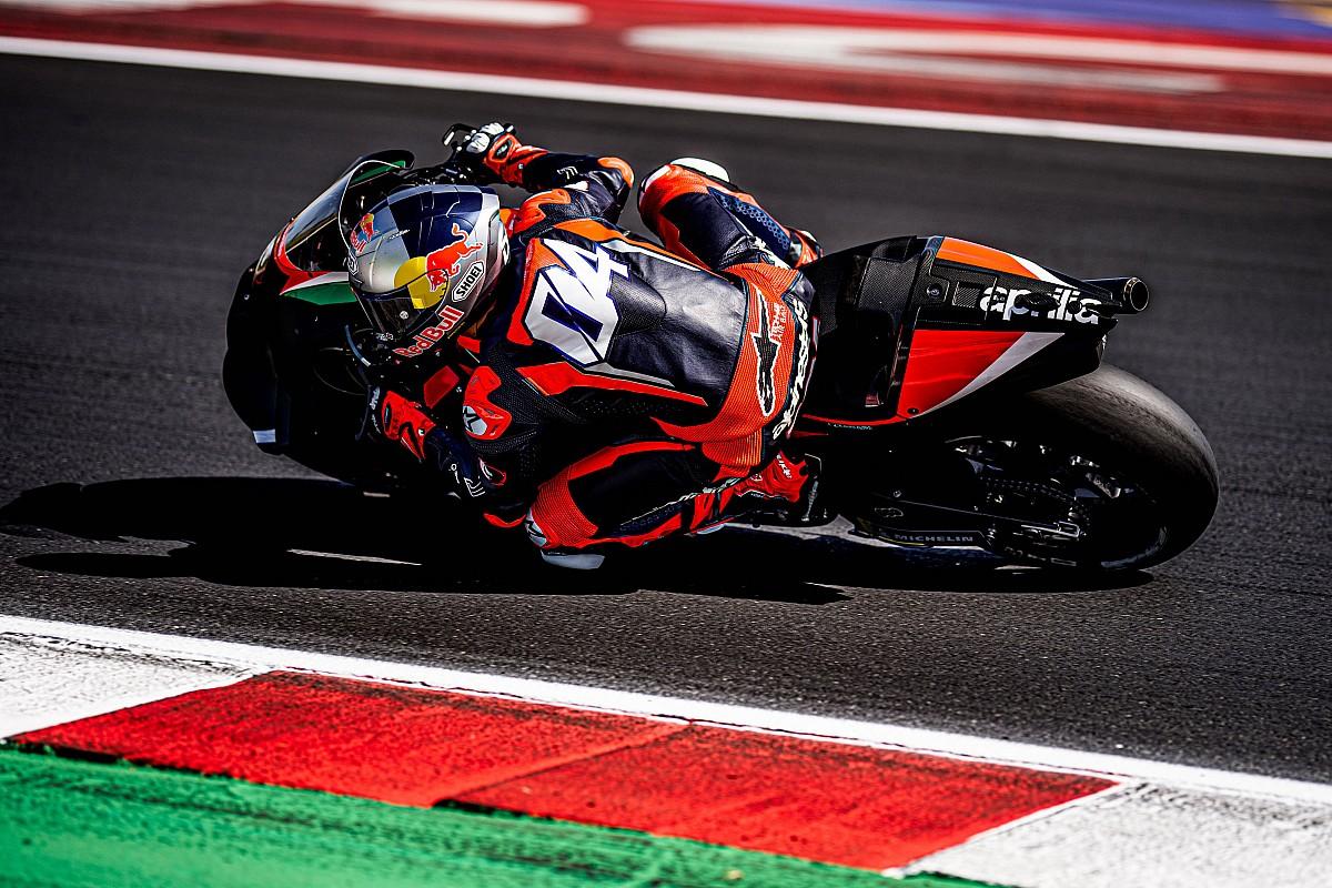 """Dovizioso """"not very aggressive"""" in Aprilia MotoGP assessments – Espargaro - Motor Informed"""