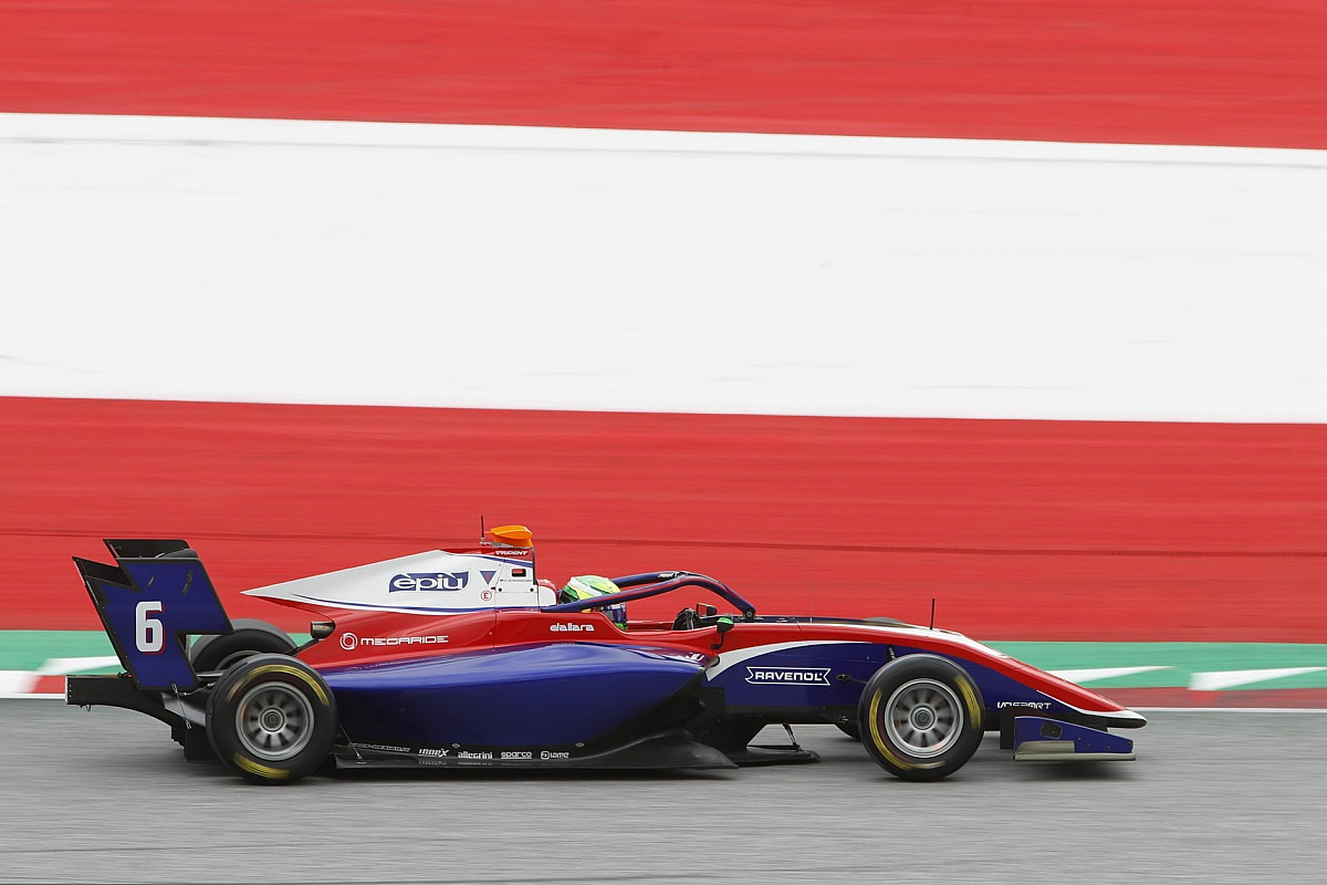 F3 Austria: David Schumacher takes maiden win in chaotic race two - Motor Informed
