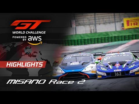 Race 2 Highlights | Misano 2021 | GT World Challenge Europe - Motor Informed