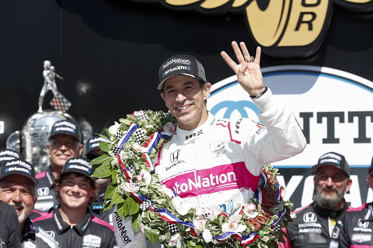 Castroneves indicators full-time with Meyer Shank for 2022, Harvey out - Motor Informed