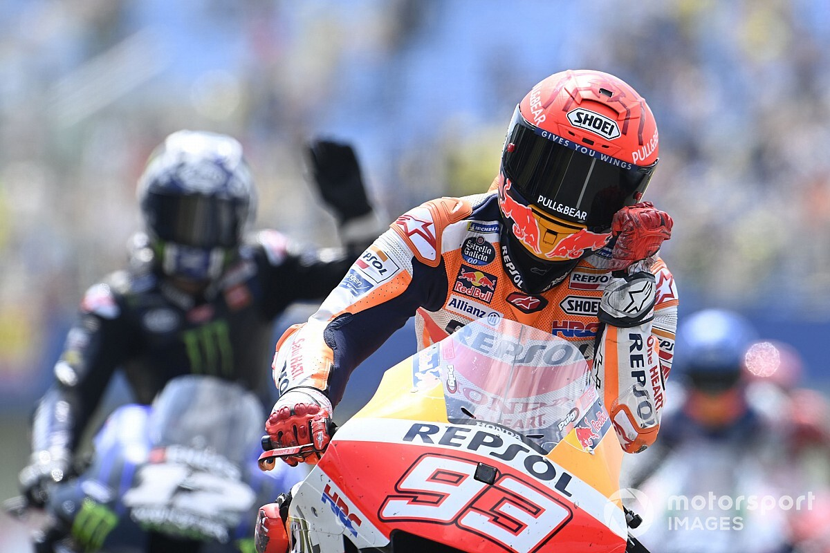"""Marquez """"impressed"""" by his cost from 20th in Assen MotoGP - Motor Informed"""