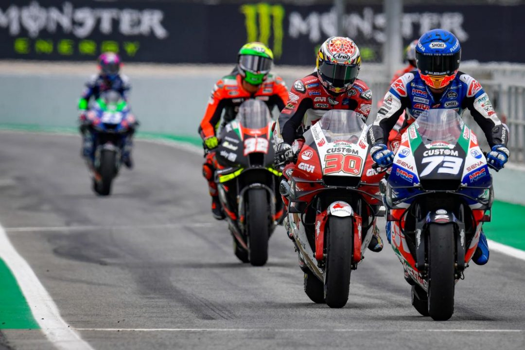 """""""Marquez wants time. Nakagami quickly on the rostrum"""" - Motor Informed"""