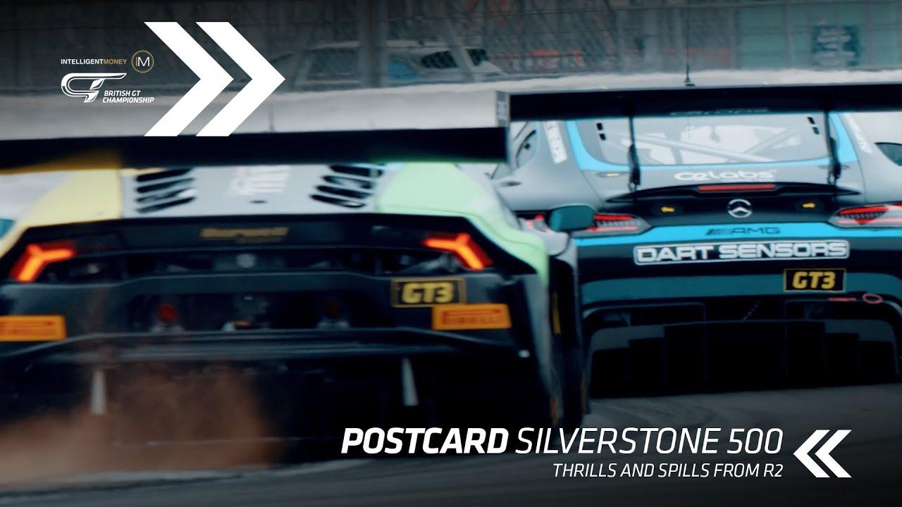 POSTCARD | British GT - Silverstone 500 - Motor Informed