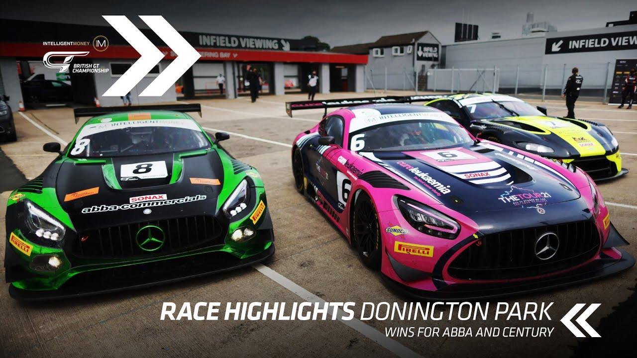 HIGHLIGHTS | British GT - Donington Park - R3 - Motor Informed