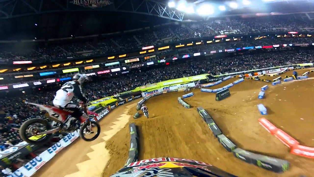 GoPro HD: James Stewart Main Event Monster Energy Supercross 2012 - Motor Informed