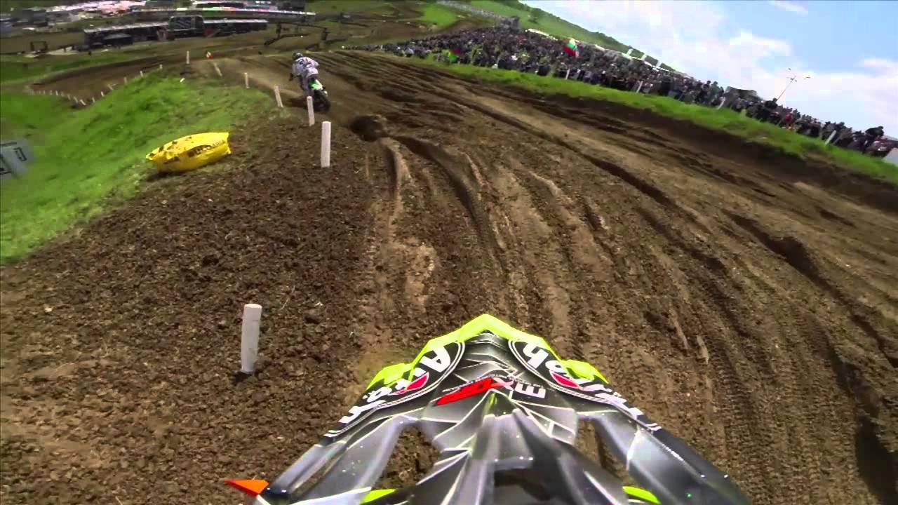 GoPro HD: Antonio Cairoli Moto 1 FIM World Motocross Championship Sevlievo, Bulgaria - Motor Informed