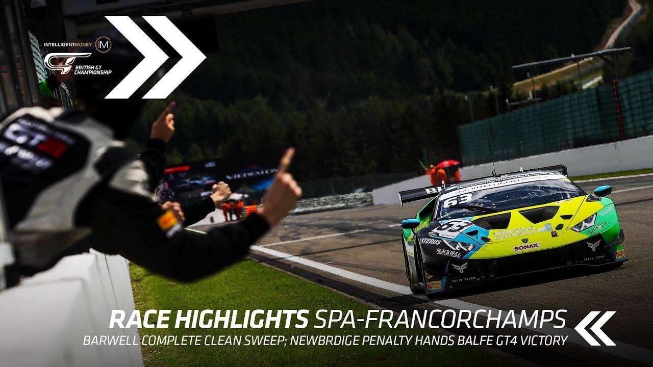 HIGHLIGHTS | British GT - Spa - R4 - Motor Informed
