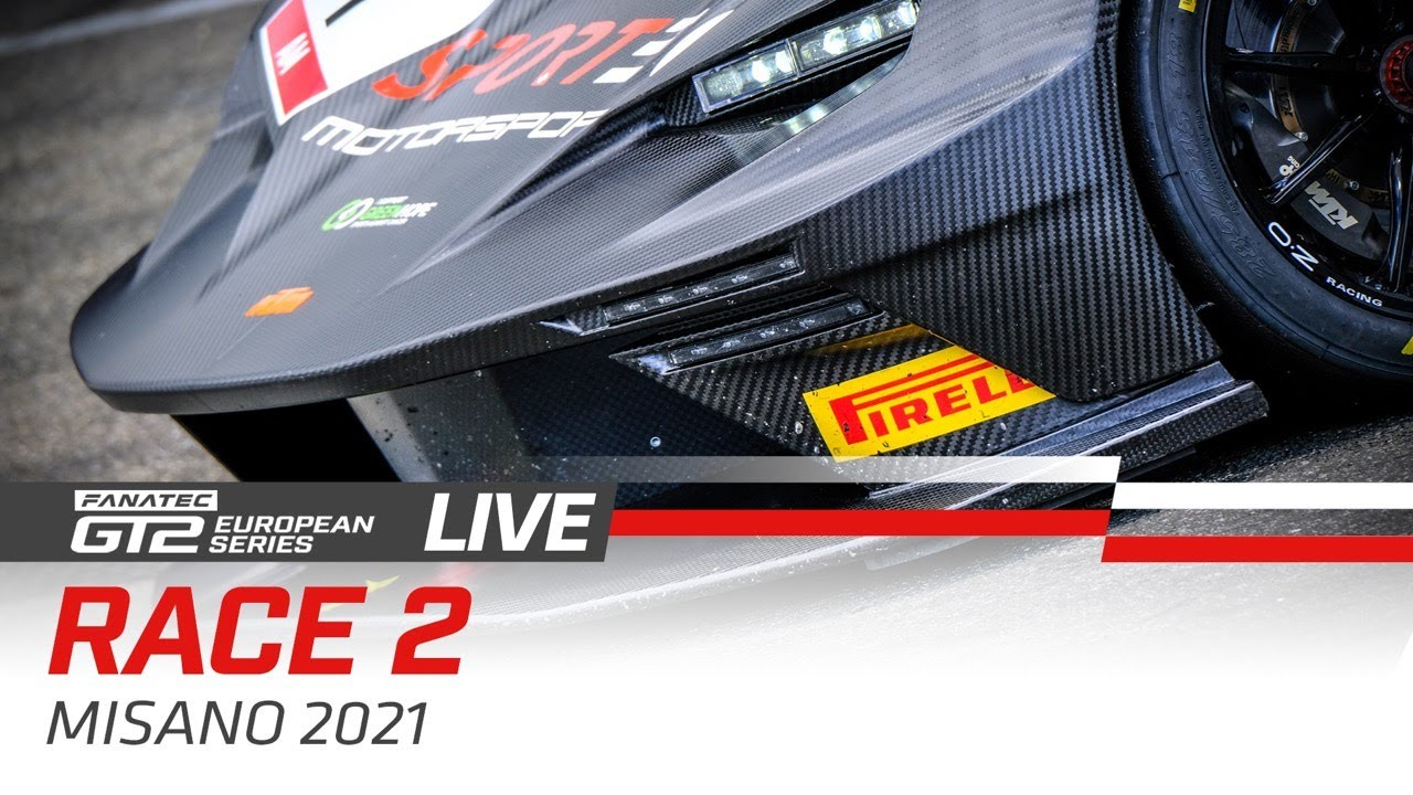 Join us live from Misano for Round 6 of the 2021 Fanatec GT2 European Series! 📺 - Motor Informed