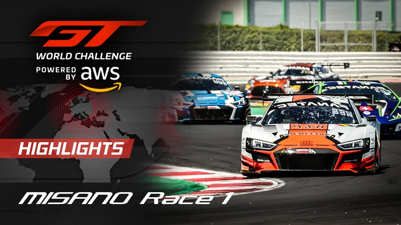 Race 1 Highlights   Misano 2021   GT World Challenge Europe - Motor Informed