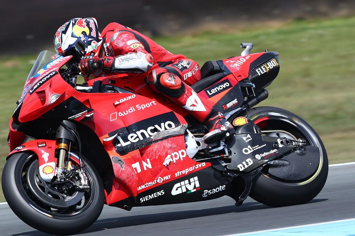 """Miller rues """"shit nothing crash"""" in Assen MotoGP race - Motor Informed"""