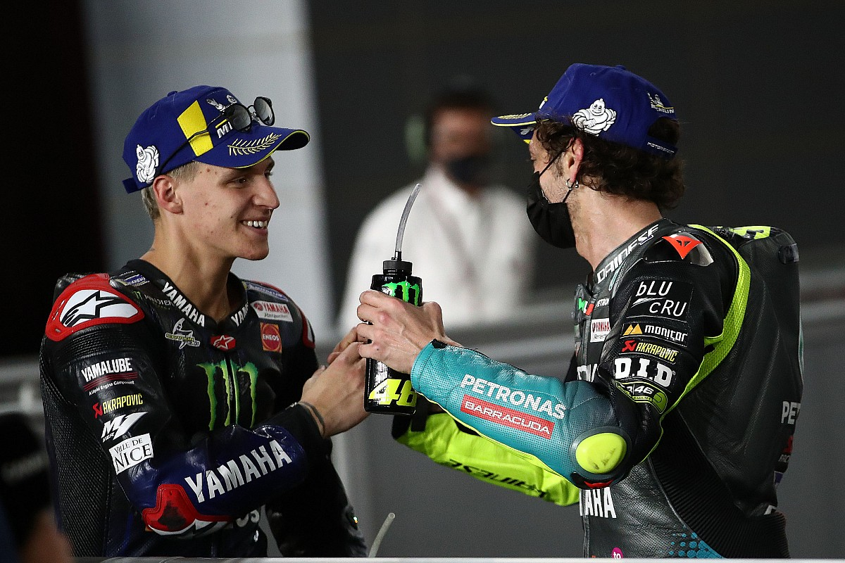 "Quartararo: Changing Rossi at Yamaha ""big accountability"" - Motor Informed"