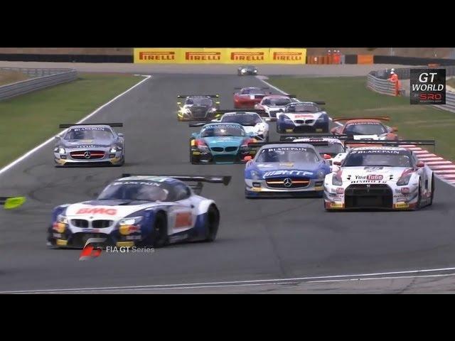 FIA GT - Navarra Main Race - Short Highlights - 2013 - Motor Informed
