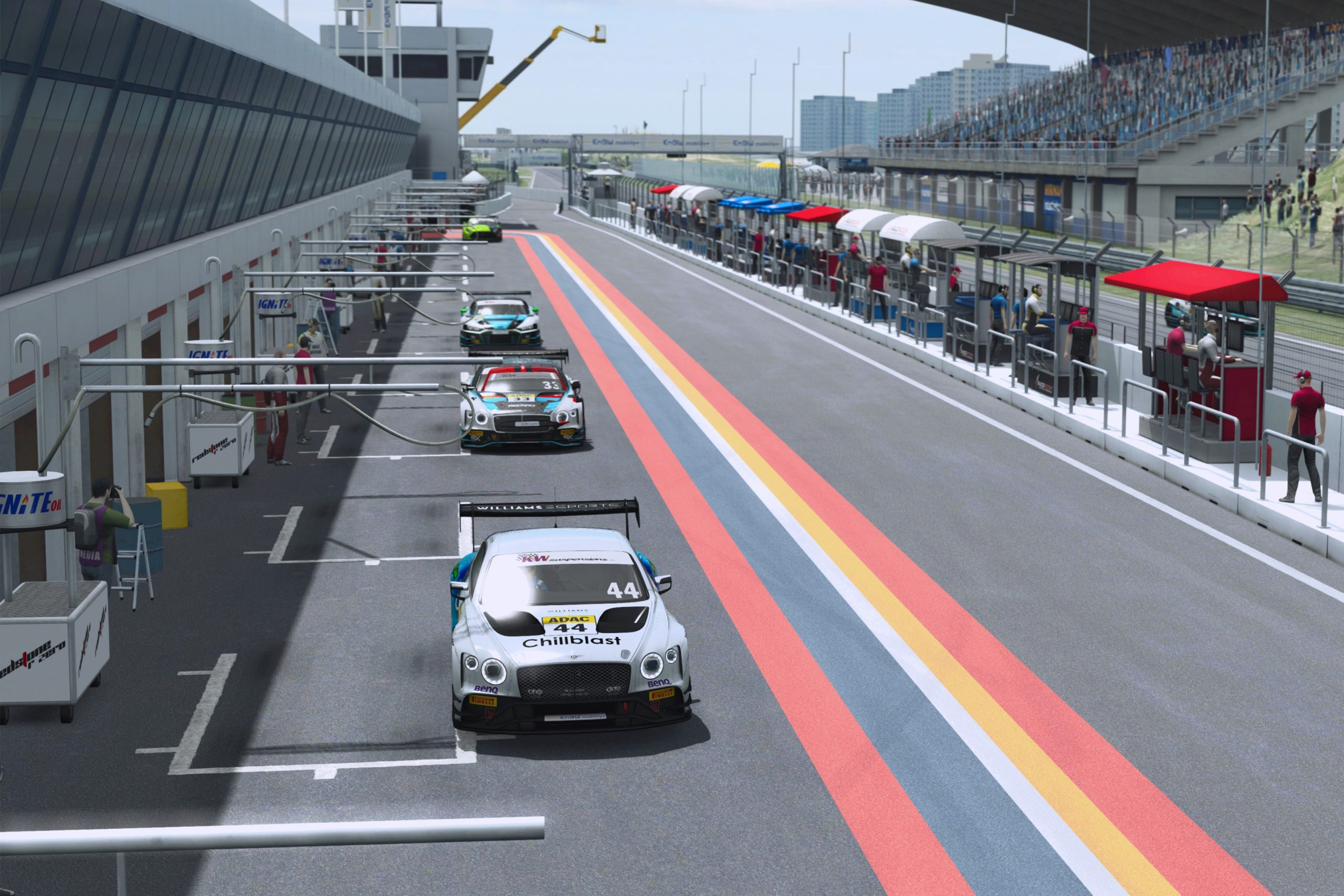 Keithley and Löhner first 2021 ADAC GT Masters Esports double winners - Motor Informed