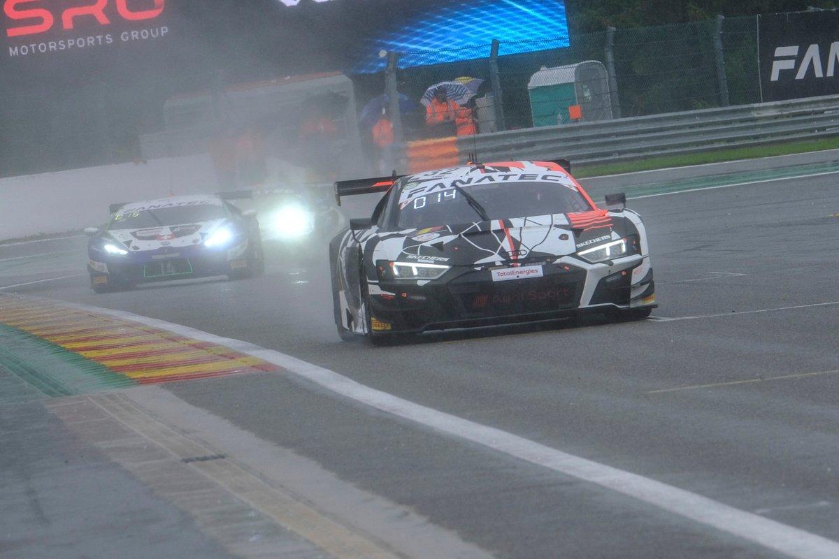 #32 Audi Sport Team WRT Audi R8 LMS GT3: Dries Vanthoor, Kelvin van der Linde, Charles Weerts
