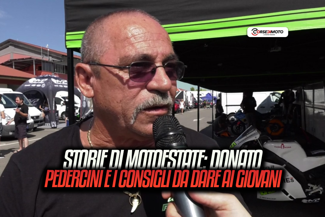 """Motoestate tales, Donato Pedercini: the """"criticism"""" of younger individuals - Motor Informed"""