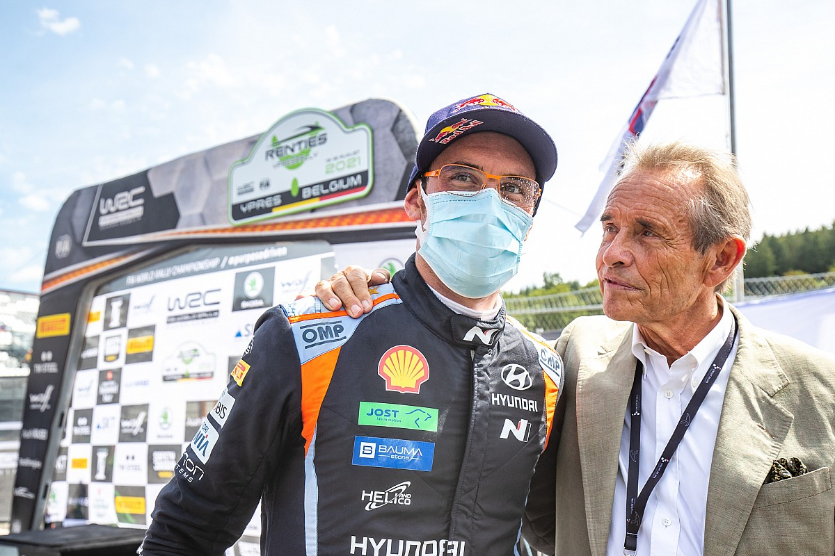 Thierry Neuville supported by a Le Mans legend at Ypres - Motor Informed