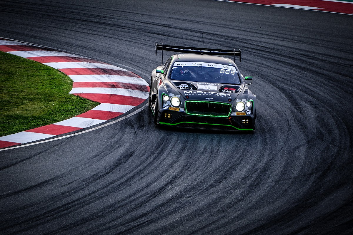 Bentley engaged on electrical Continental GT3 - Motor Informed