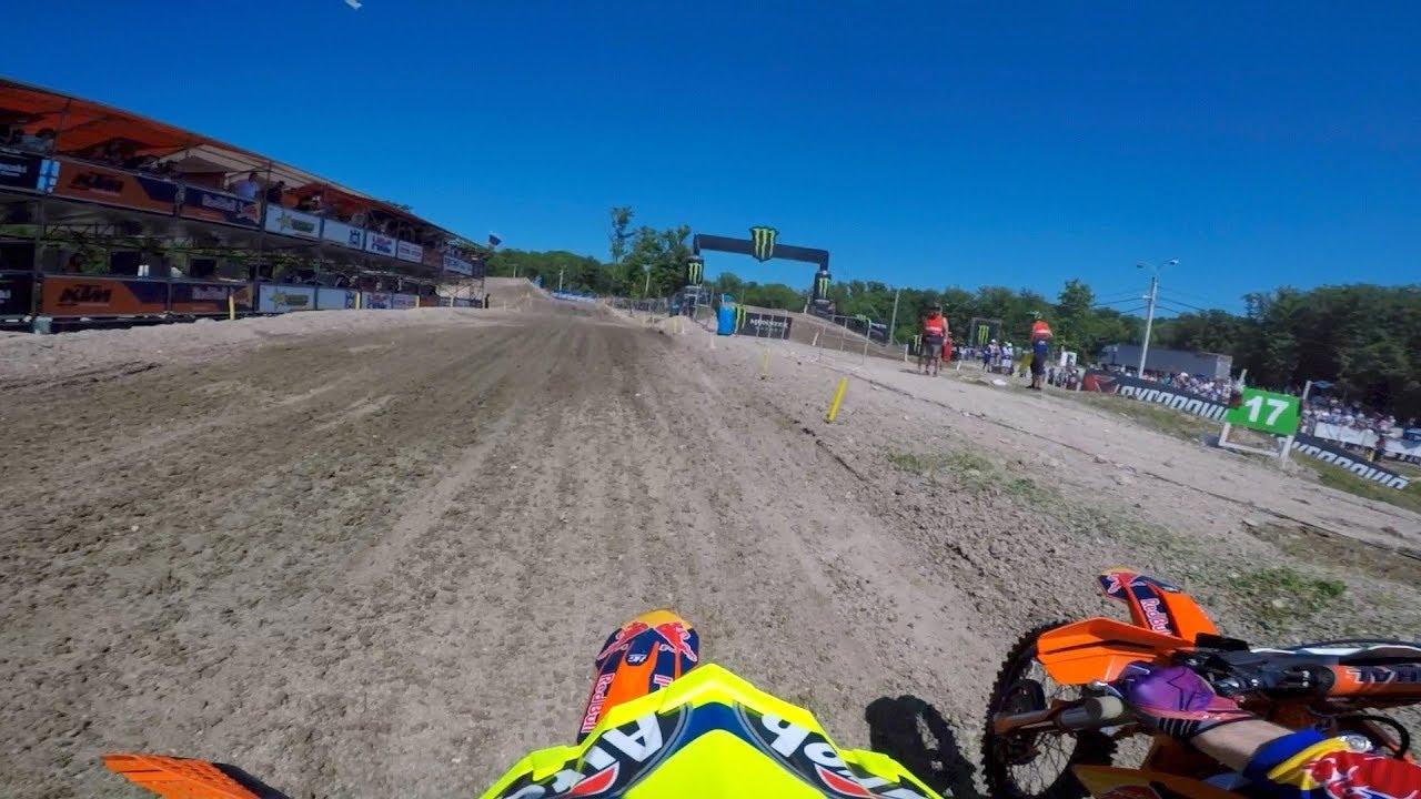 GoPro: Antonio Cairoli FIM MXGP 2018 RD6 Russia Moto 1 - Motor Informed