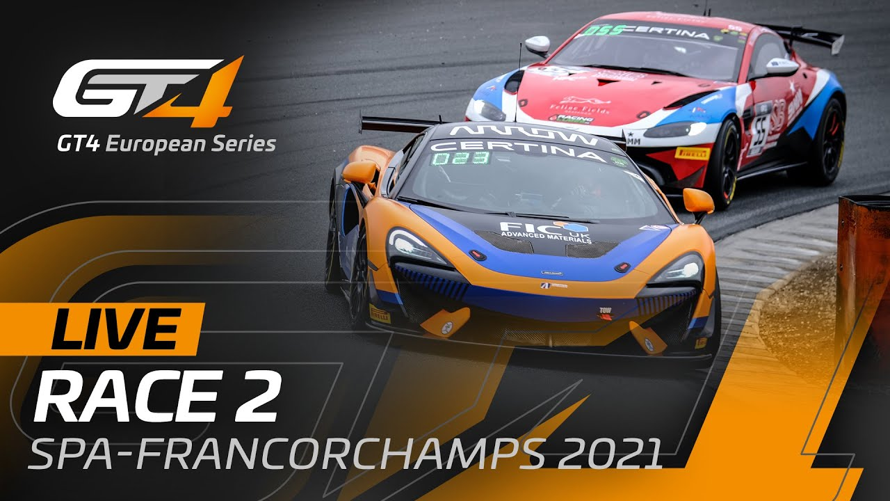 RACE 2 - GT4 European Series - SPA FRANCORCHAMPS 2021 - ENGLISH - Motor Informed