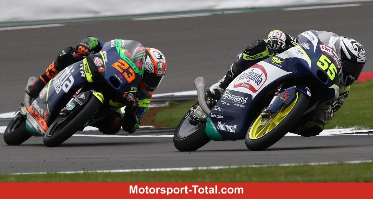 Moto3 race at Silverstone: Romano Fenati celebrates start-to-finish victory - Motor Informed